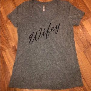WIFEY shirt 🖤